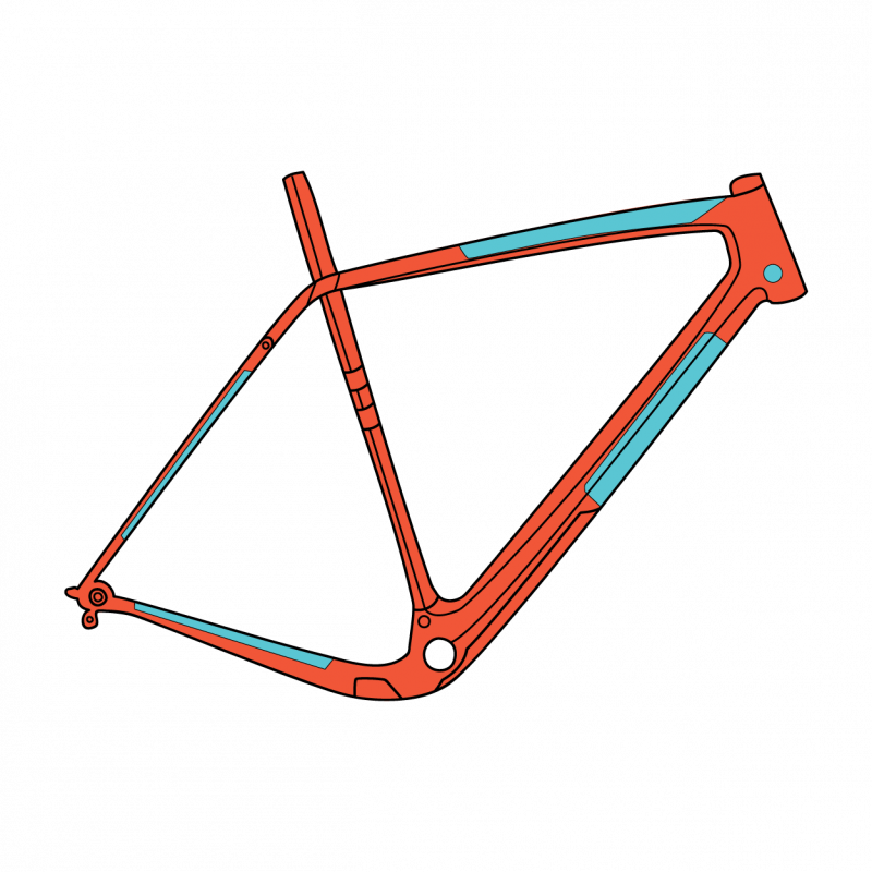 Universal Gravel Bike Frame Protection